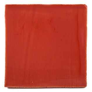 New Terracotta Red Tomato Delicious Special Firing Colour, Edinburgh Tile Studio