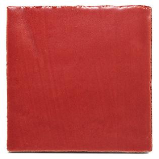 New Terracotta Vintage Red Matt Colour, Edinburgh Tile Studio