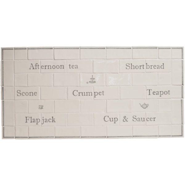 Marlborough Afternoon Tea Panel, Edinburgh Tile Studio