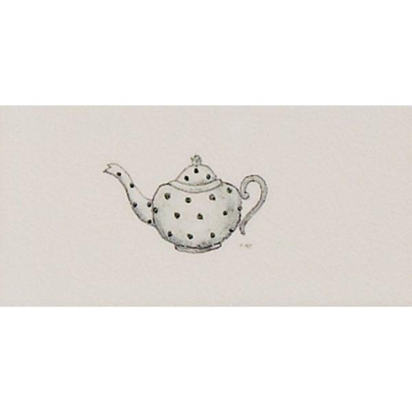Marlborough Word Panel Decors, Teapot, Edinburgh Tile Studio