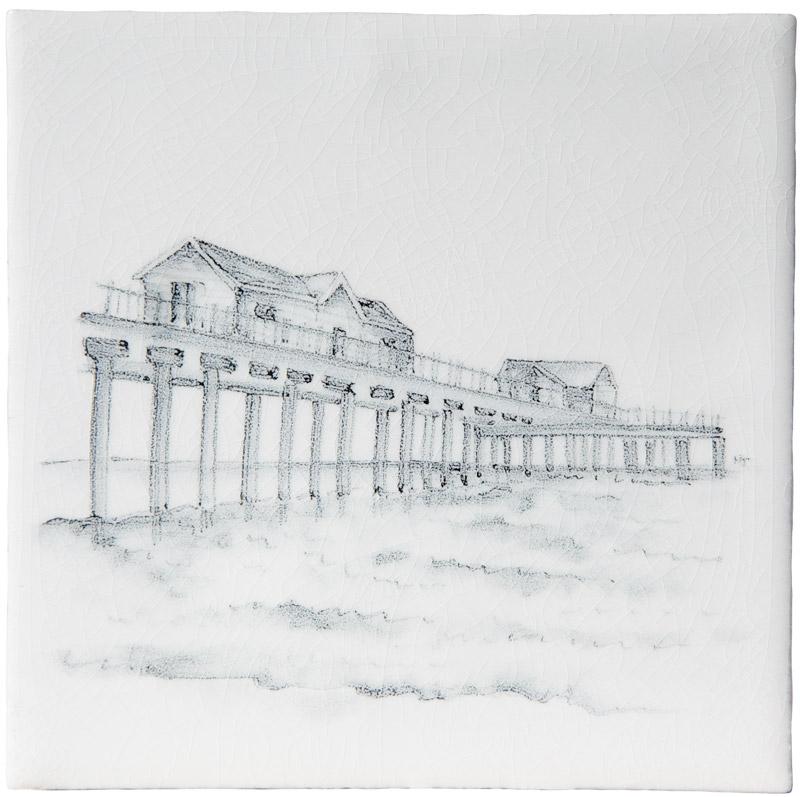 Marlborough Coast, Design 1, Edinburgh Tile Studio