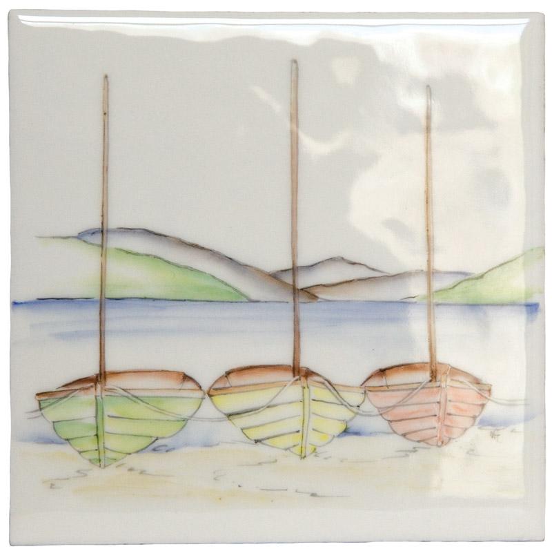 Marlborough Coast, Design 5, Edinburgh Tile Studio