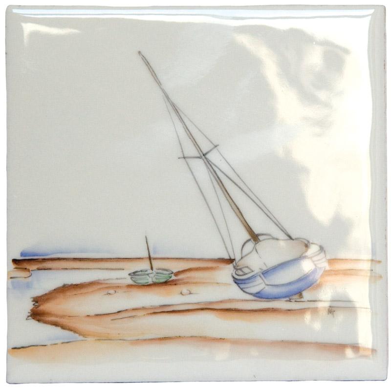 Marlborough Coast, Design 6, Edinburgh Tile Studio