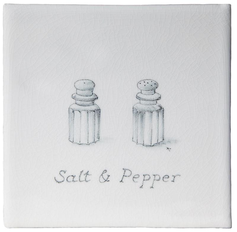 Marlborough Kitchenware, Salt & Pepper, Edinburgh Tile Studio