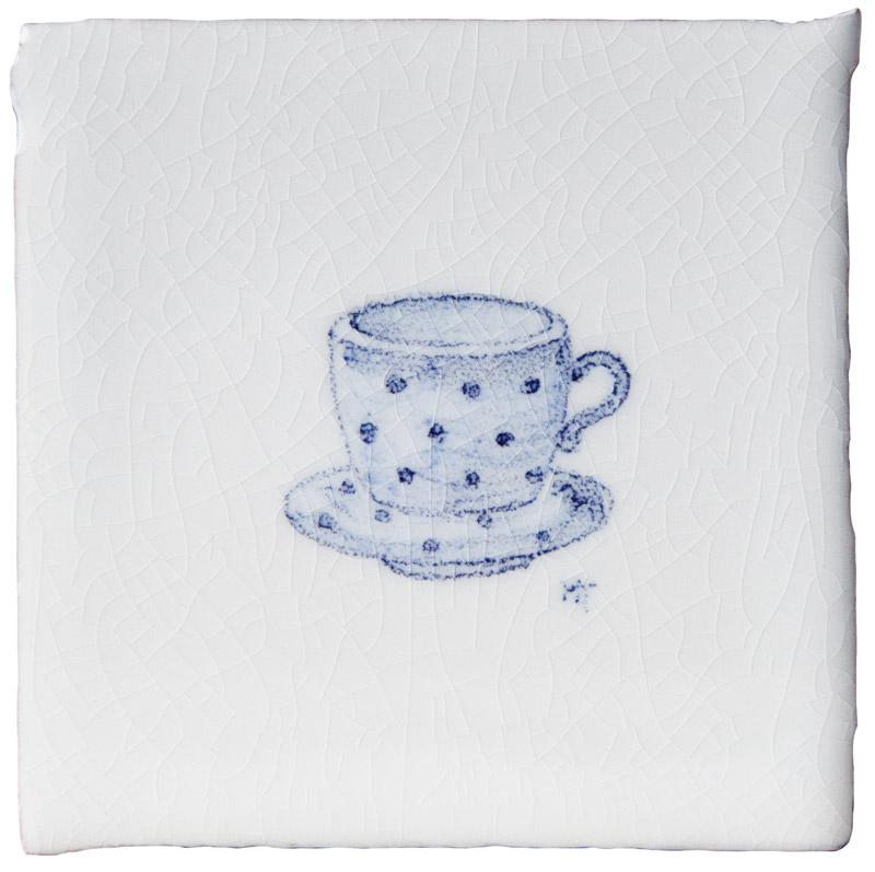 Marlborough Kitchenware, Tea Cup Taco, Edinburgh Tile Studio