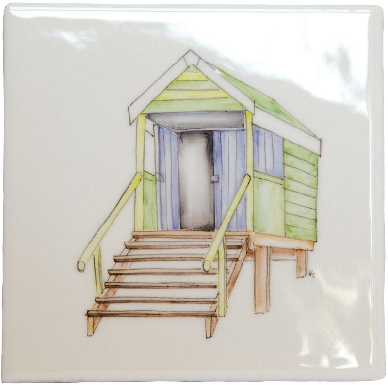 Marlborough Seaside, Design 1, Edinburgh Tile Studio