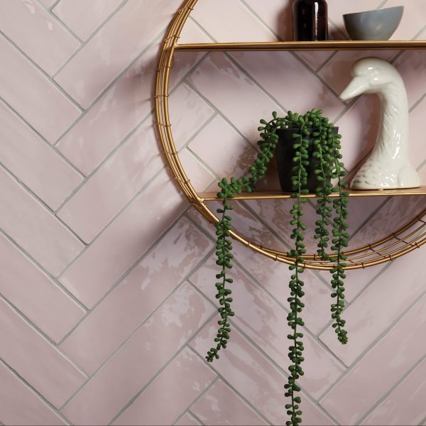 Ca' Pietra Carter Ceramic Rose Brick; Who gives a porcelain duck? Or is it a goose?  Edinburgh Tile Studio