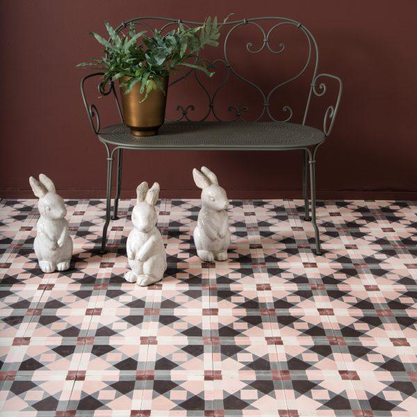Marrakech Design Mats Theselius Raval Riereta Encaustic.  Bunnies – where's dinner?? Edinburgh Tile Studio.