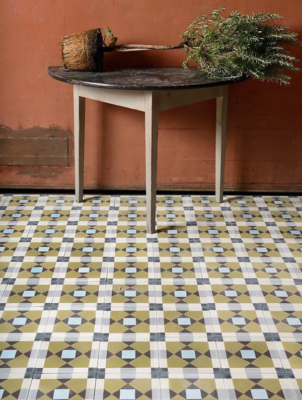 Marrakech Design Mats Theselius Raval VIII Encaustic. Edinburgh Tile Studio.