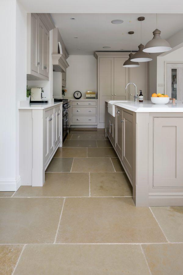 Ca' Pietra Umbria Limestone, tumbled.   Edinburgh Tile Studio.