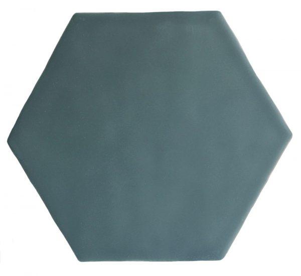 Marlborough Latitude Collection. Dogger Matt Hexagon. Edinburgh Tile Studio.