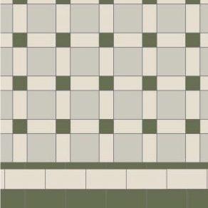 Original Style Victorian Floor Range. Geometric Brighton.  Edinburgh Tile Studio.