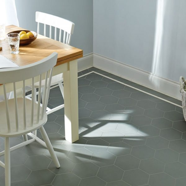 Original Style Victorian Floor Range. Diamonds Buckfastleigh.  Edinburgh Tile Studio.