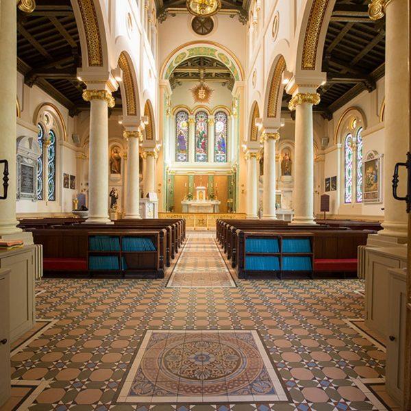 Original Style Victorian Floor Range. Diamonds Inverlochy.  Edinburgh Tile Studio.