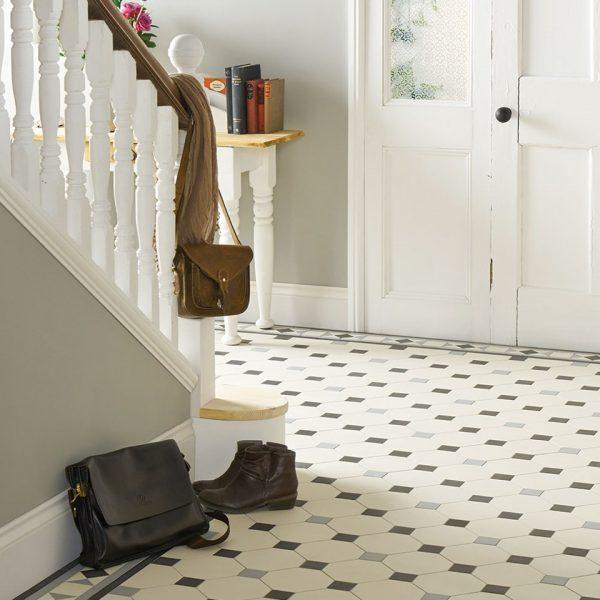 Original Style Victorian Floor Range. Diamonds Nottingham.  Edinburgh Tile Studio.
