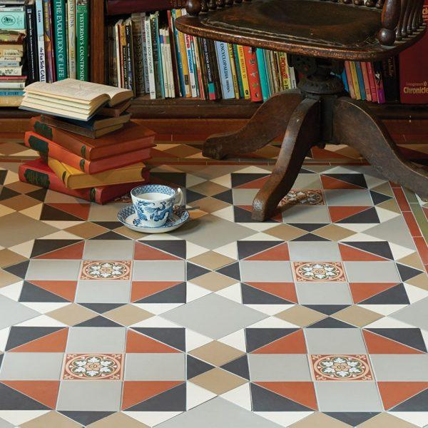 Original Style Victorian Floor Range. Timeless Rochester.  Edinburgh Tile Studio.