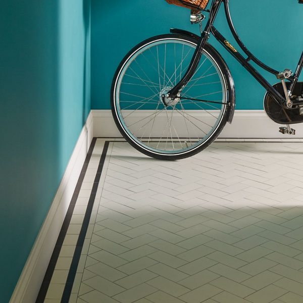 Original Style Victorian Floor Range. Herringbone Scarborough.  Edinburgh Tile Studio.