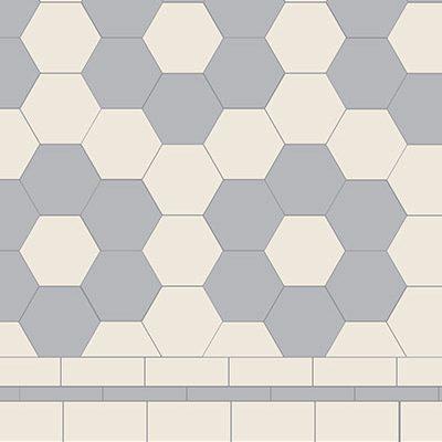 Original Style Victorian Floor Range. Diamonds Stratford.  Edinburgh Tile Studio.