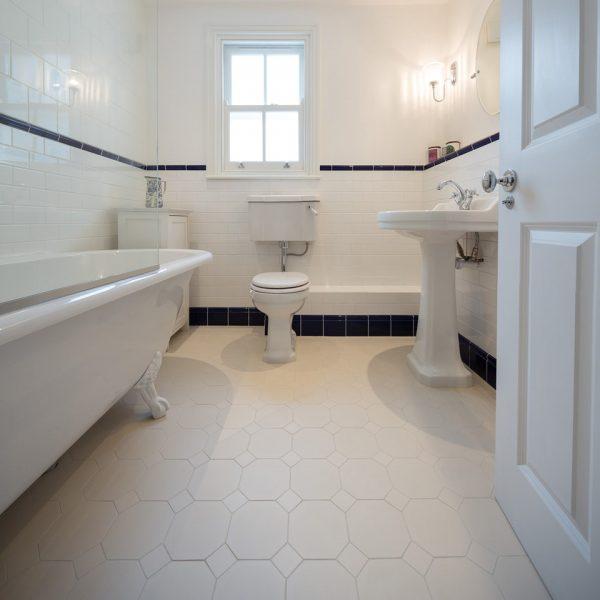 Original Style Victorian Floor Range. Diamonds York.  Edinburgh Tile Studio.