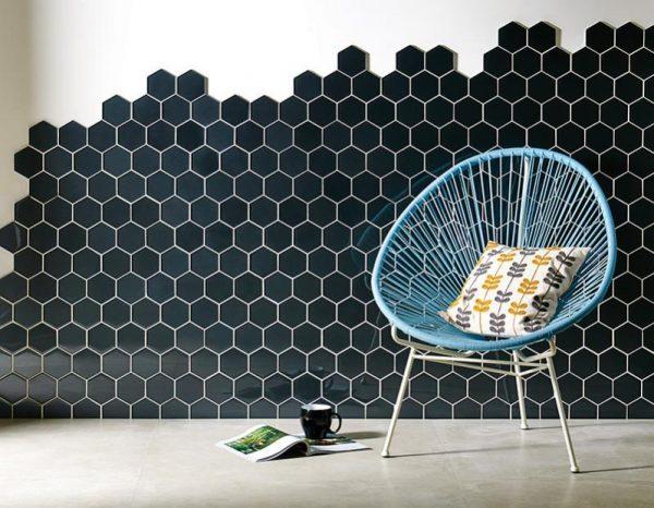 Original Style Glassworks metallic Effect.  hera. Edinburgh Tile Studio.