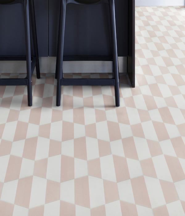 Ca' Pietra Neapolitan Pink.  Edinburgh Tile Studio.