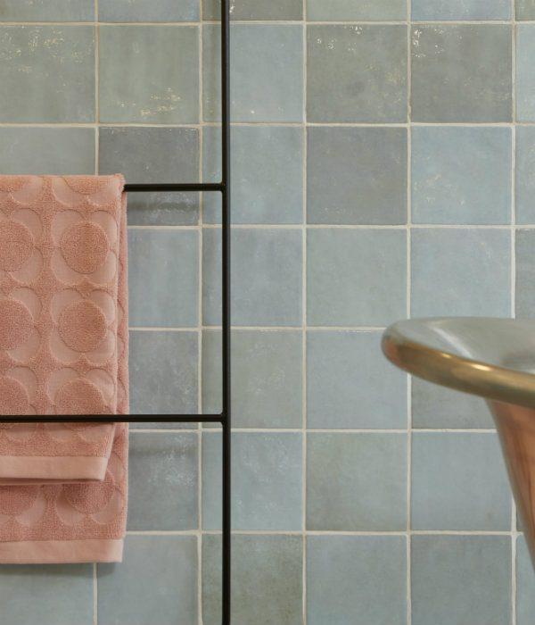 Ca' Pietra Bazaar Ceramic Aqua. Edinburgh Tile Studio.