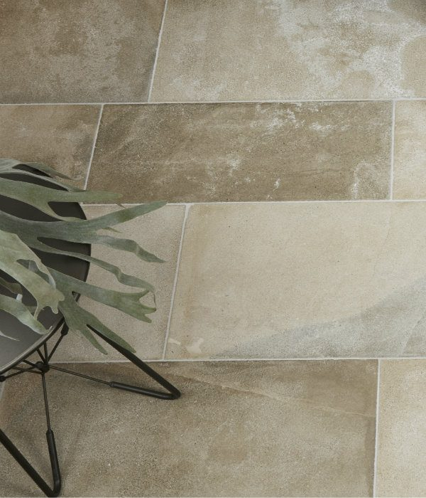 Ca' Pietra Beaulieu Limestone Velvet Finish. Edinburgh Tile Studio.
