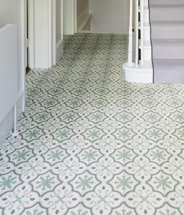 Ca' Pietra Moroccan Impressions Amina Green.  Edinburgh Tile Studio.