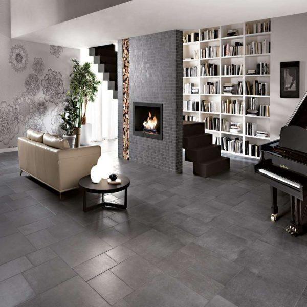 Italian Porcelain Milan Rocher.  Edinburgh Tile Studio.