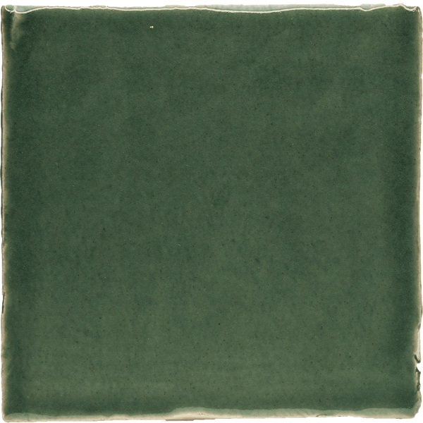New Terracotta Tempest Green Basic Colour, Edinburgh Tile Studio