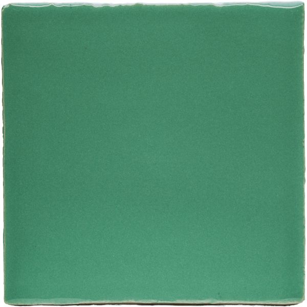 New Terracotta Green Delight Basic Colour, Edinburgh Tile Studio