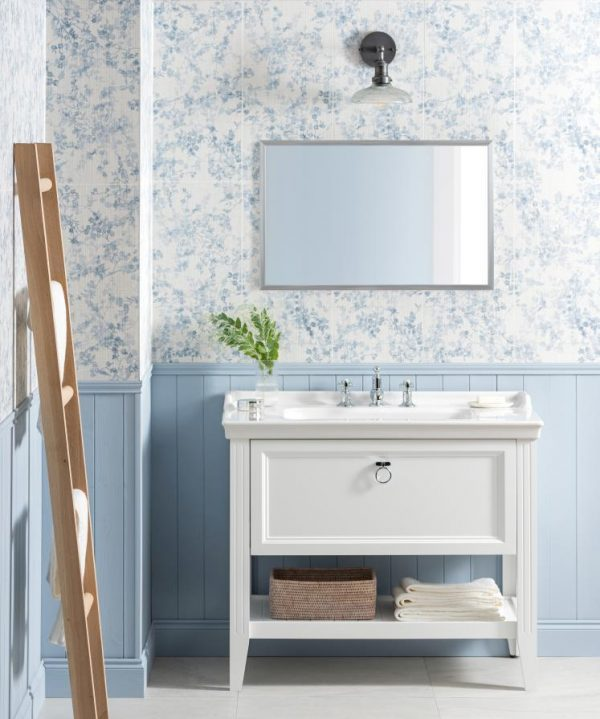 Original Style Living Arbour Blossom. Edinburgh Tile Studio.