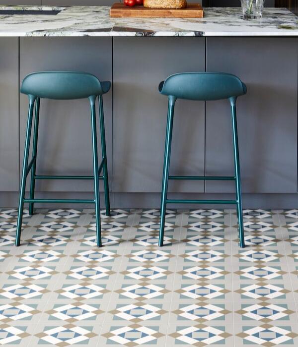 Ca' Pietra Brompton Kensington Porcelain. Edinburgh Tile Studio.