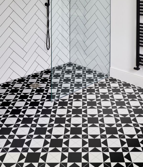 Ca' Pietra Brompton Underground Porcelain. Edinburgh Tile Studio.