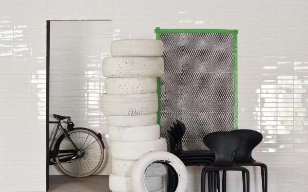 Mutina Ceramica Bianco. Edinburgh Tile Studio