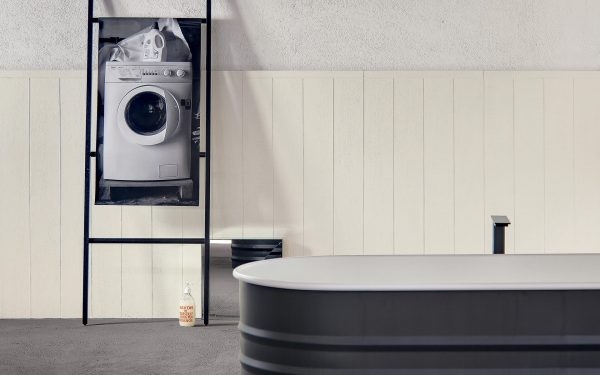 Mutina Flow White. Edinburgh Tile Studio