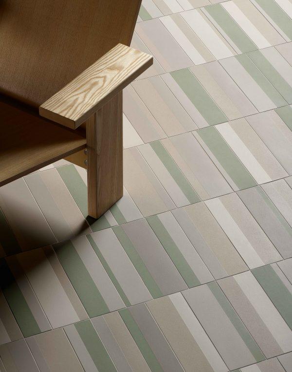 Mutina Piano Gris Vert. Edinburgh Tile Studio