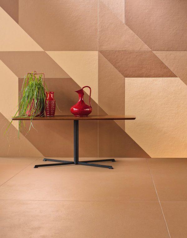 Mutina Tierras Triomix 2 and Tierras Sand. Edinburgh Tile Studio