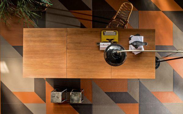 Mutina Tierras Triomix 3 (ash, humus & brick). Edinburgh Tile Studio
