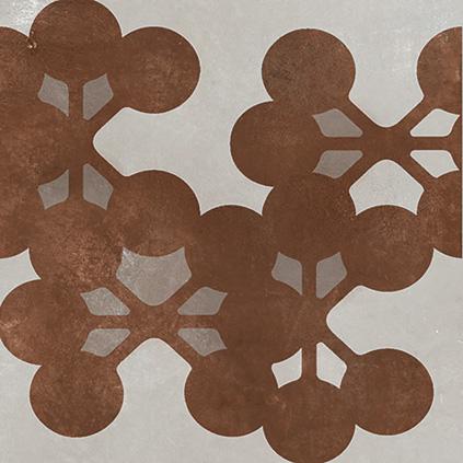 Mutina Azulej Grigio Flores. Edinburgh Tile Studio