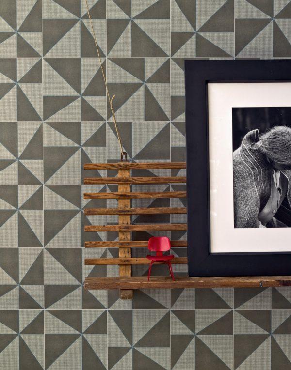 Mutina Azulej Grigio Gira. Edinburgh Tile Studio