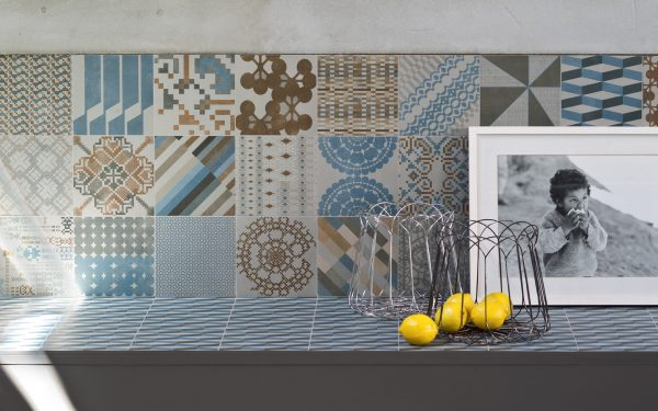 Mutina Azulej Grigio Combination. Edinburgh Tile Studio