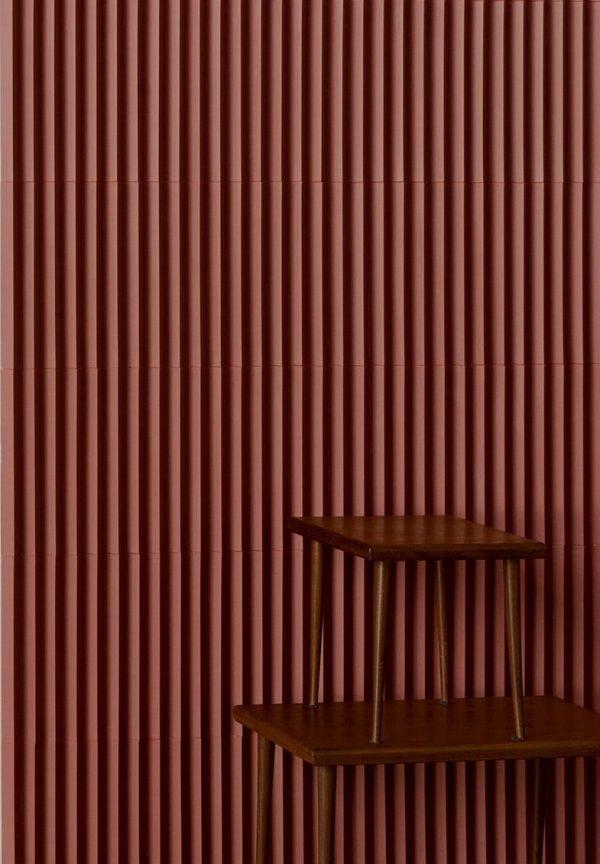 Mutina Rombini Triangle Small Red. Edinburgh Tile Studio