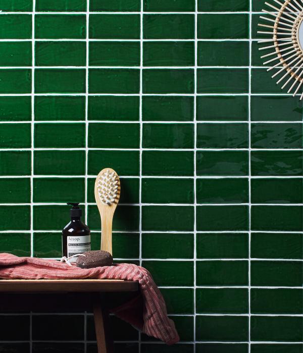 Ca' Pietra Seaton Sea Grass. Edinburgh Tile Studio.