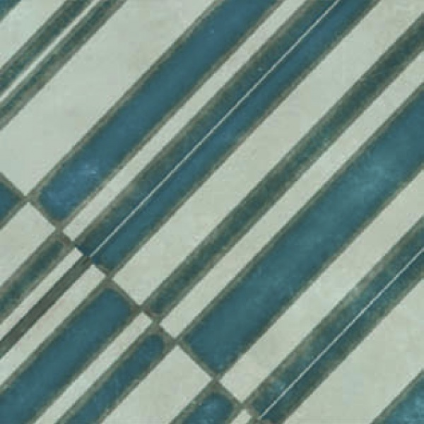 Azulej_Diagonal_GreyBlue Tile, Edinburgh Tile Studio