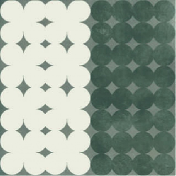 Azulej_Trevo_Grey Tile, Edinburgh Tile Studio