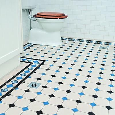 Olde English Victorian Floor, Barton Pattern | Edinburgh Tile Studio