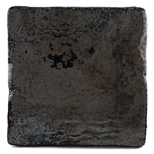 New Terracotta Vintage Metallics Colours Black Nickel Eruption V109, Edinburgh Tile Studio
