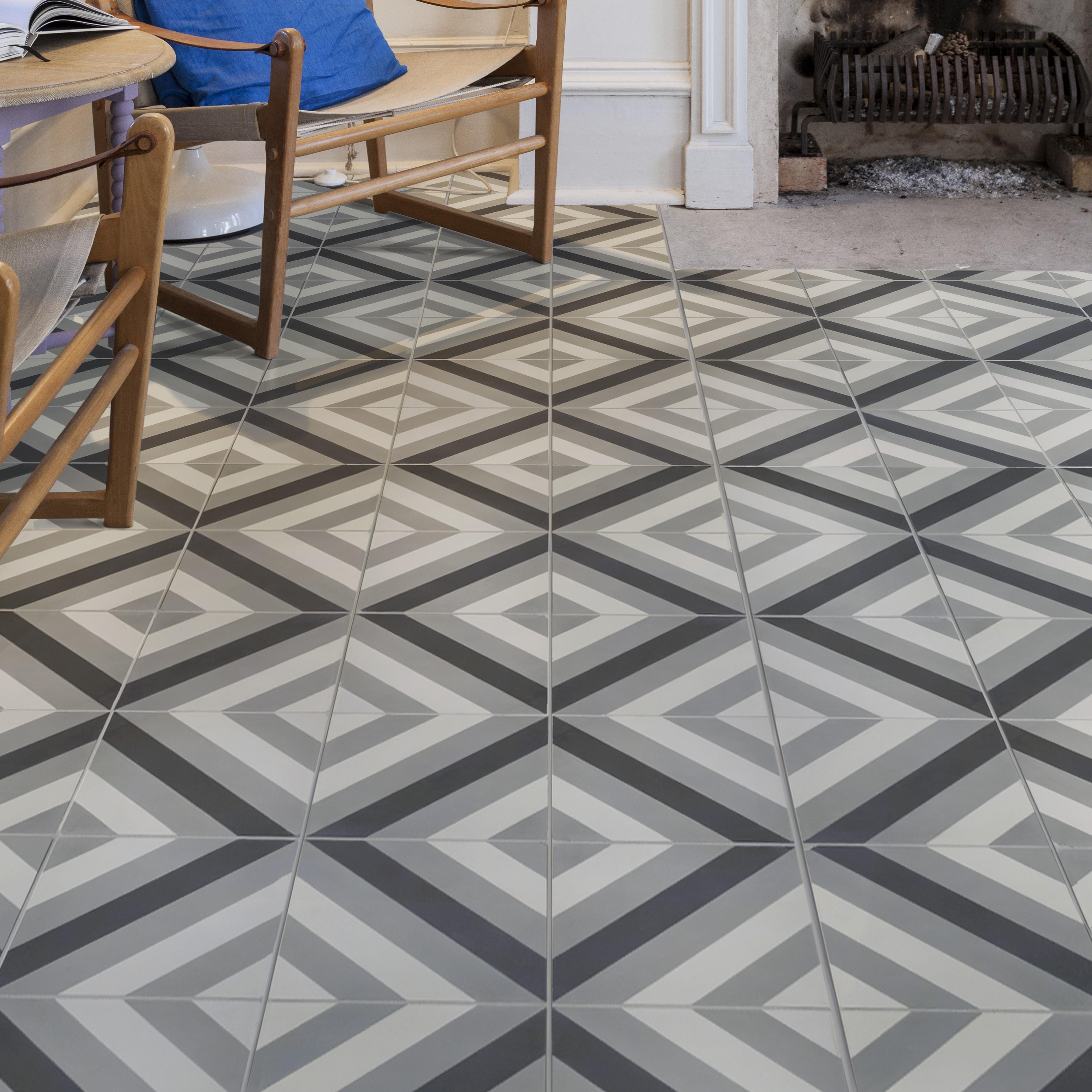 Modern Encaustic Cement Floors Edinburgh Tile Studio