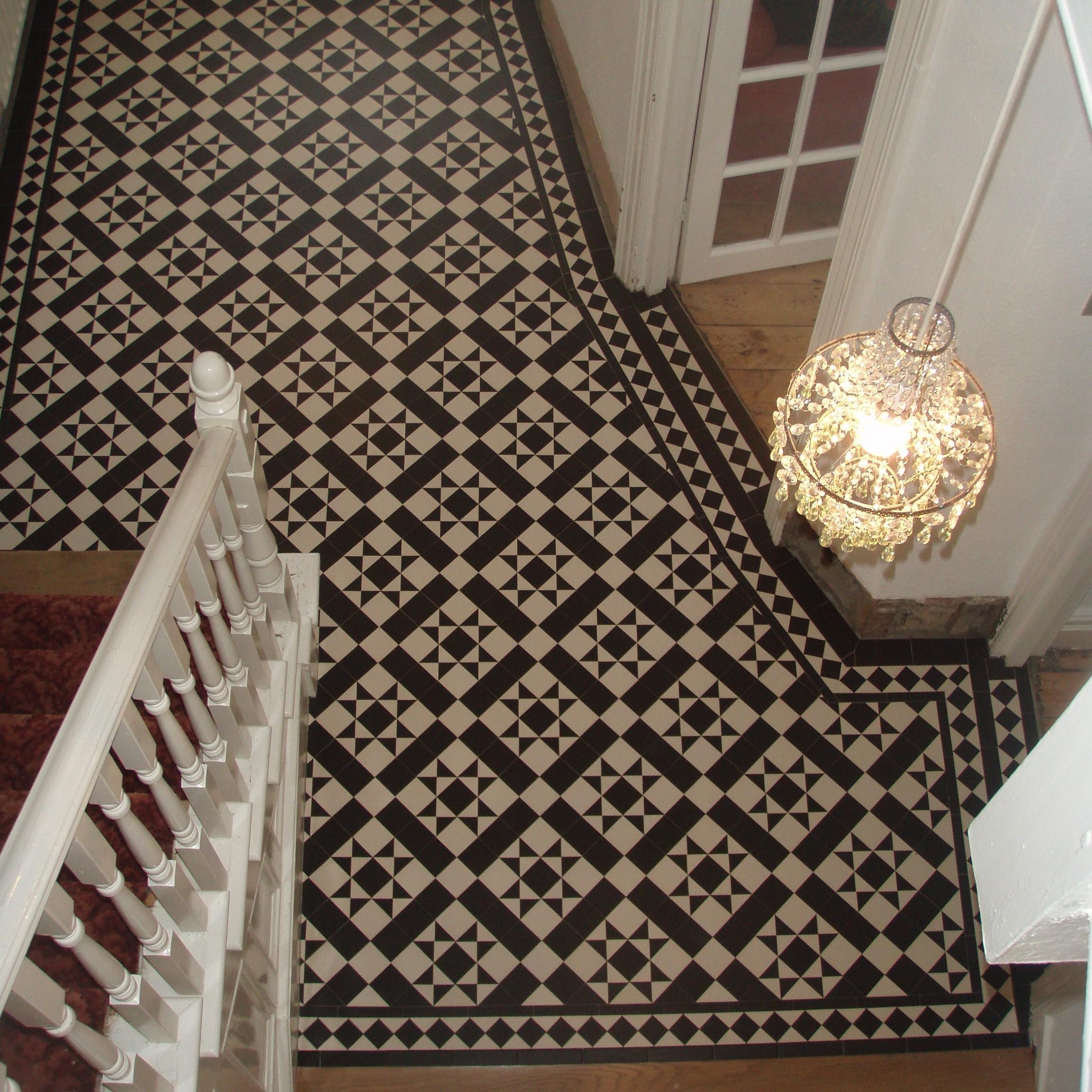 Olde English Victorian Floor Carron Pattern Edinburgh Tile Studio